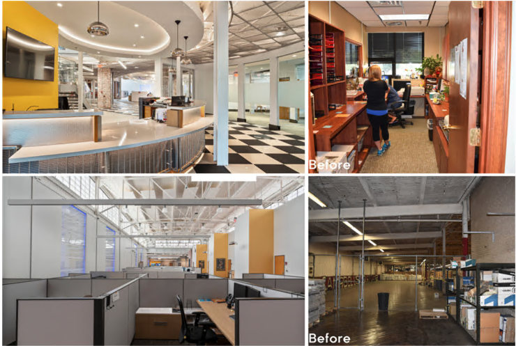 adaptive reuse before/after
