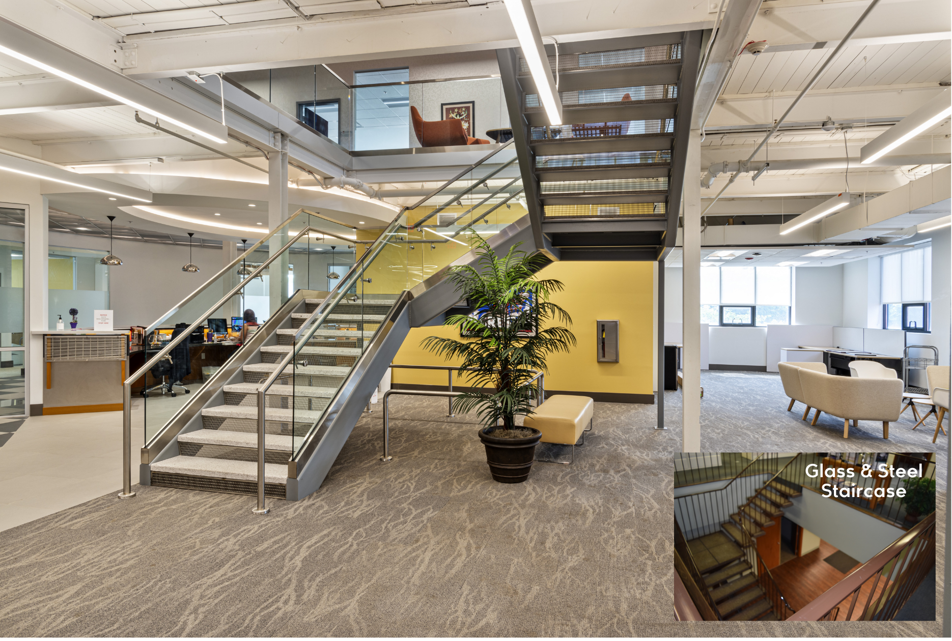 adaptive reuse-monumental staircase